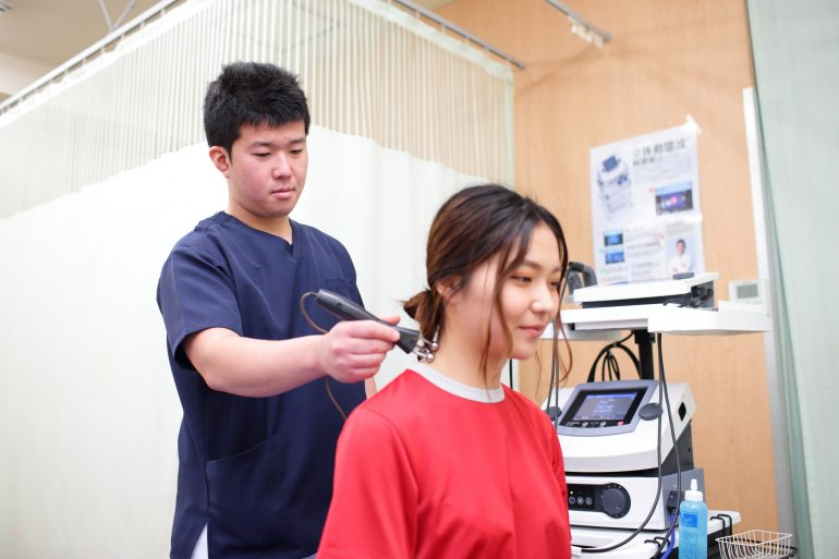 立体動態波療法|横浜市日吉の、ひよし鍼灸院センター接骨院