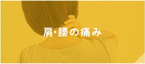 肩・腰の痛み